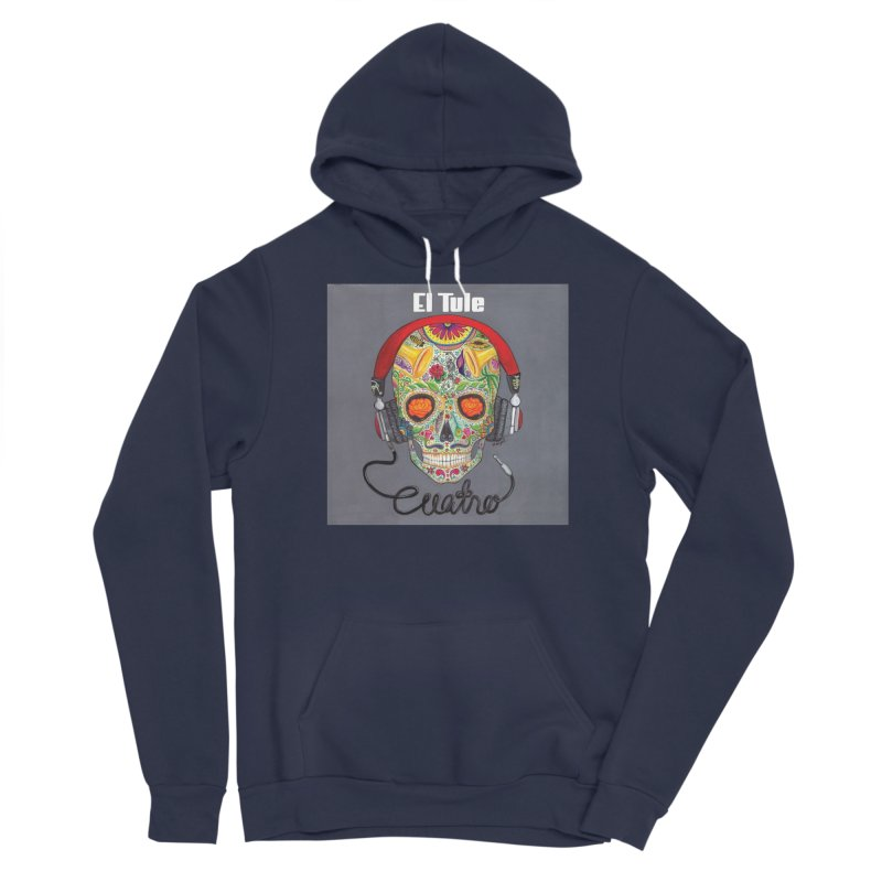 "El Tule ""Cuatro"" Album Cover Men's Sponge Fleece Pullover Hoody by El Tule Store"