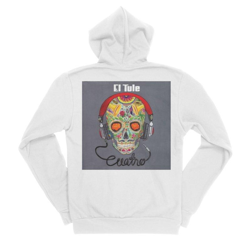 """El Tule """"Cuatro"""" Album Cover Men's Sponge Fleece Zip-Up Hoody by El Tule Store"""