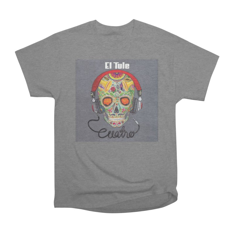 "El Tule ""Cuatro"" Album Cover Men's Heavyweight T-Shirt by El Tule Store"