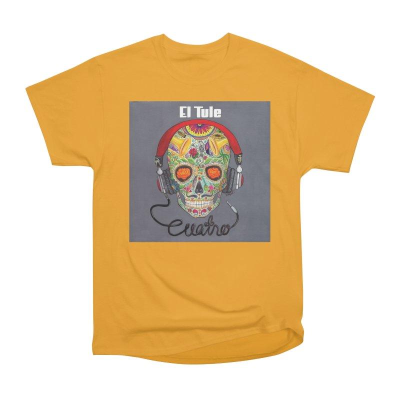 """El Tule """"Cuatro"""" Album Cover Men's Heavyweight T-Shirt by El Tule Store"""