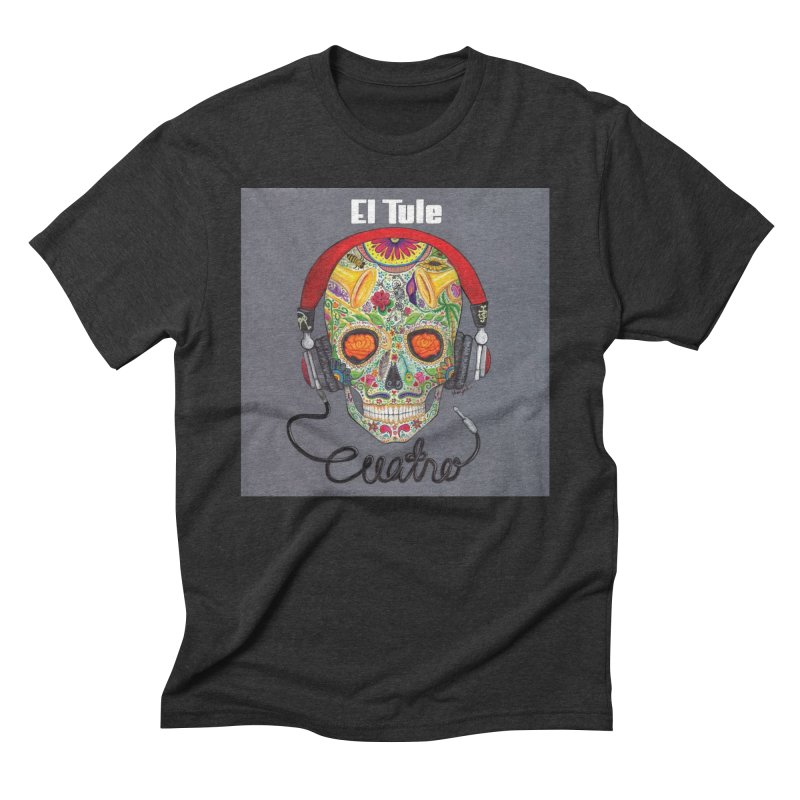 "El Tule ""Cuatro"" Album Cover Men's Triblend T-Shirt by El Tule Store"