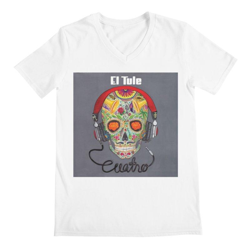 """El Tule """"Cuatro"""" Album Cover Men's V-Neck by El Tule Store"""