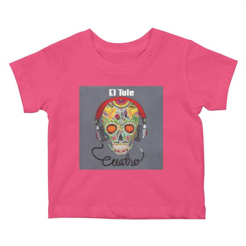 """El Tule """"Cuatro"""" Album Cover Kids Baby T-Shirt by El Tule Store"""
