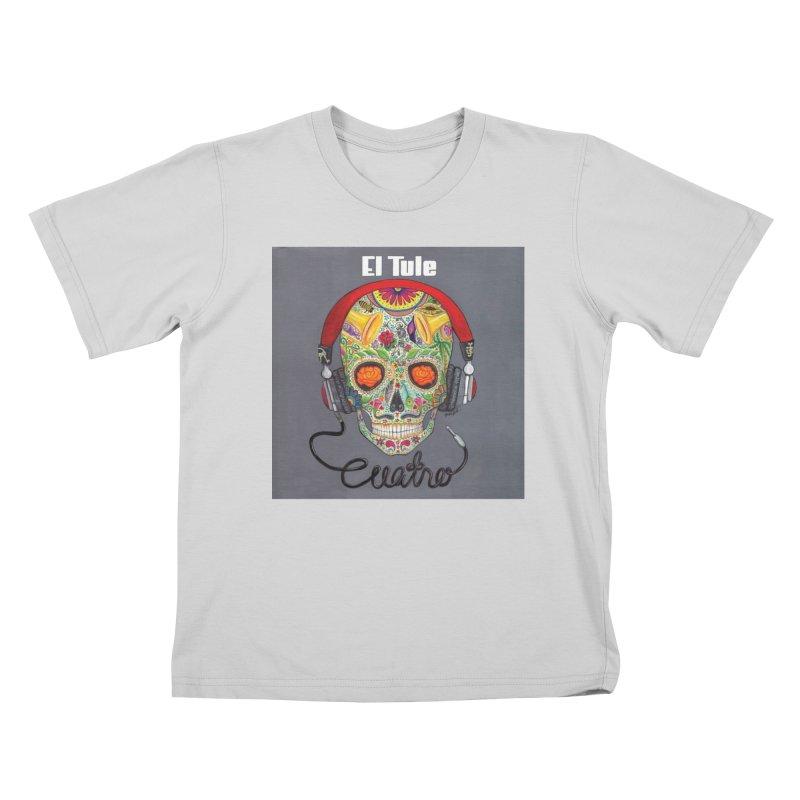 """El Tule """"Cuatro"""" Album Cover Kids T-Shirt by El Tule Store"""