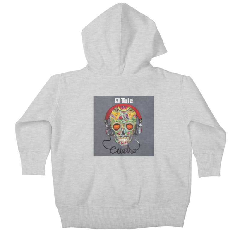 "El Tule ""Cuatro"" Album Cover Kids Baby Zip-Up Hoody by El Tule Store"