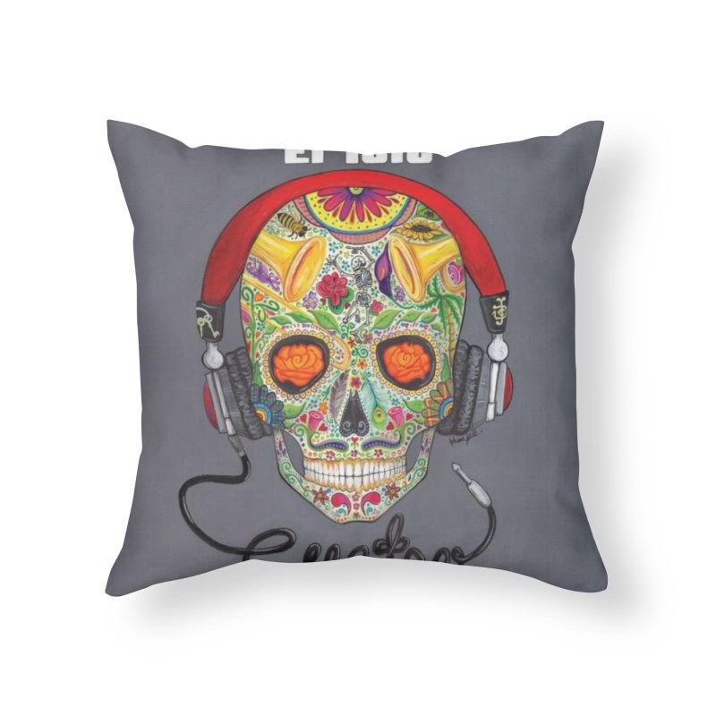 "El Tule ""Cuatro"" Album Cover Home Throw Pillow by El Tule Store"