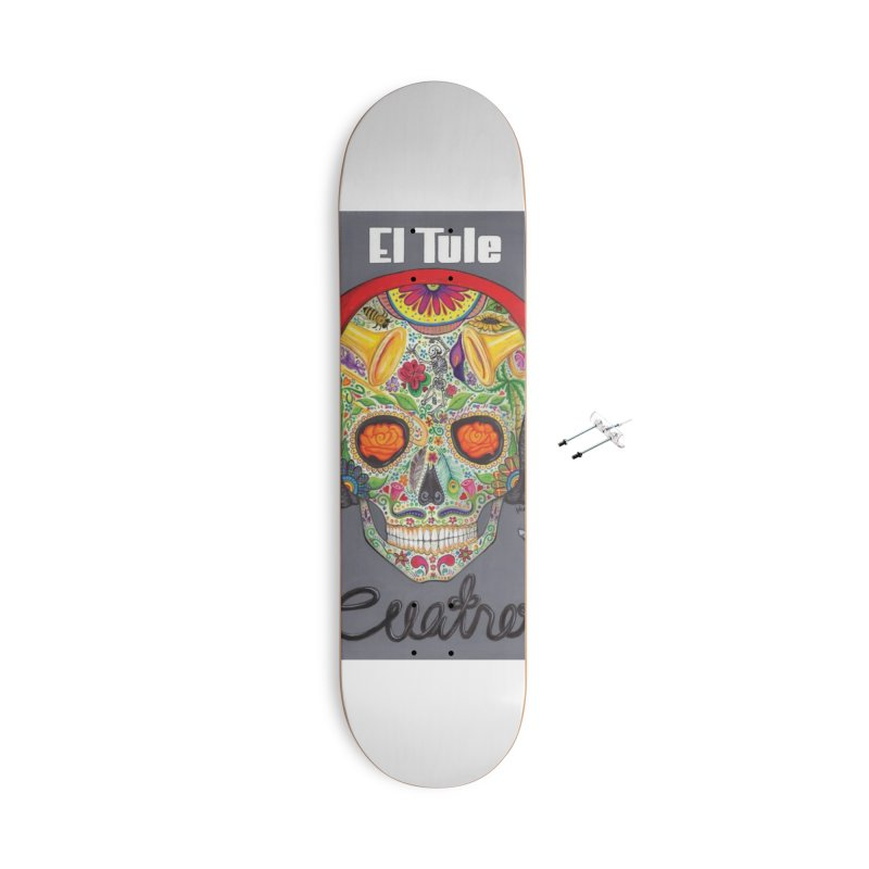 "El Tule ""Cuatro"" Album Cover Accessories With Hanging Hardware Skateboard by El Tule Store"