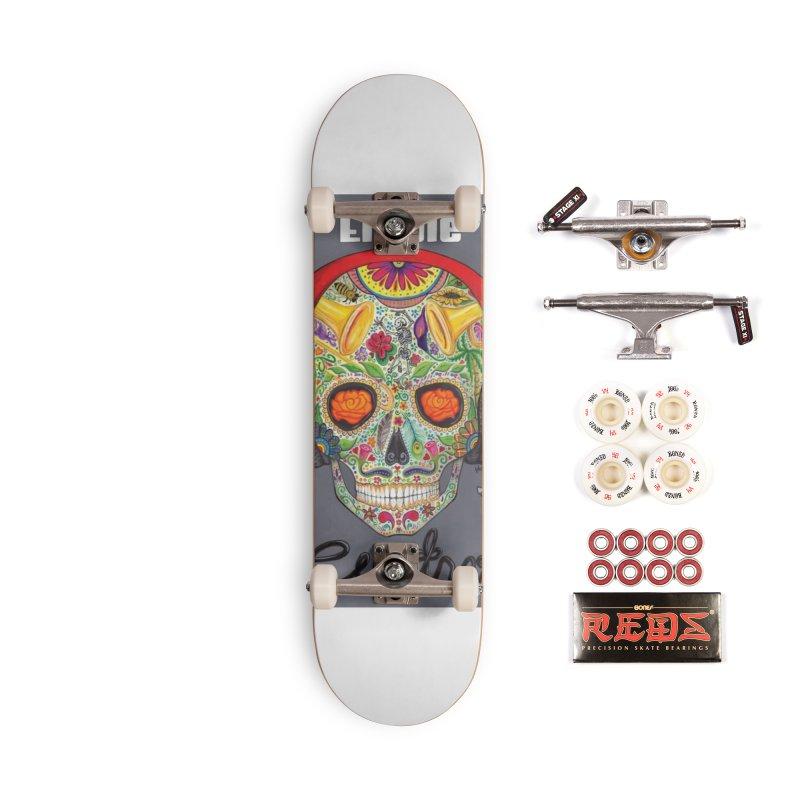 """El Tule """"Cuatro"""" Album Cover Accessories Complete - Pro Skateboard by El Tule Store"""