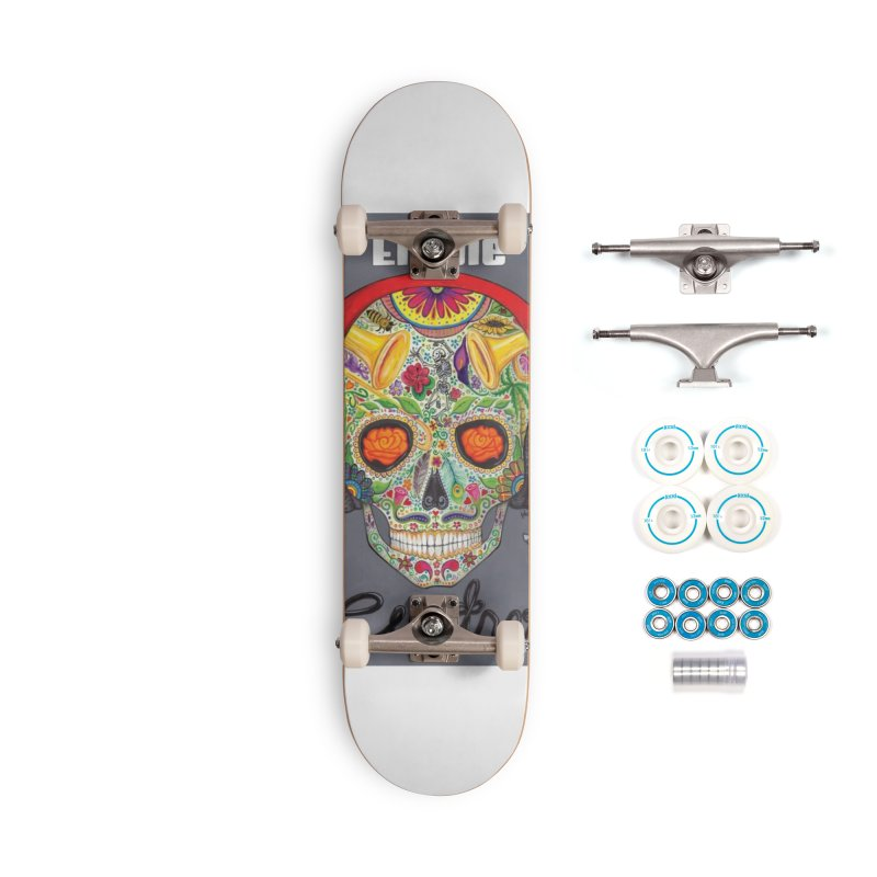 "El Tule ""Cuatro"" Album Cover Accessories Complete - Basic Skateboard by El Tule Store"