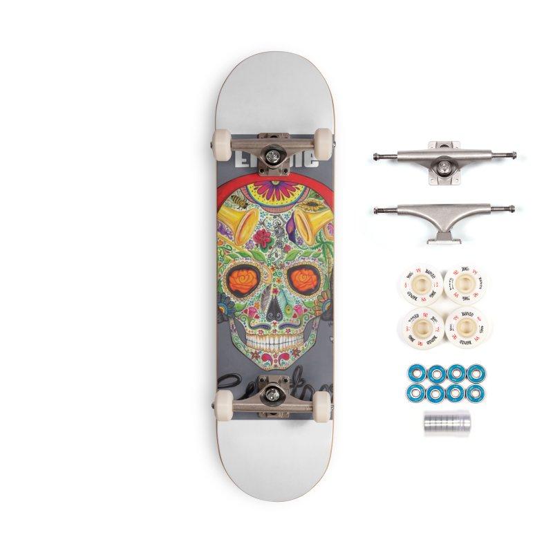 """El Tule """"Cuatro"""" Album Cover Accessories Complete - Premium Skateboard by El Tule Store"""