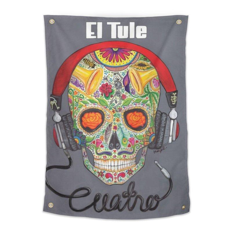 """El Tule """"Cuatro"""" Album Cover Home Tapestry by El Tule Store"""