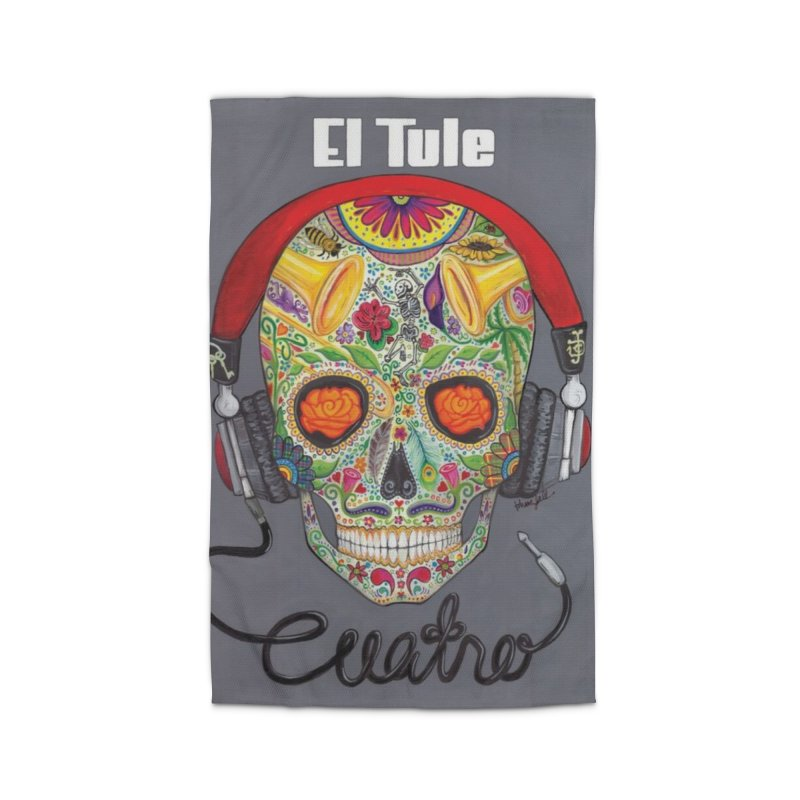"""El Tule """"Cuatro"""" Album Cover Home Rug by El Tule Store"""