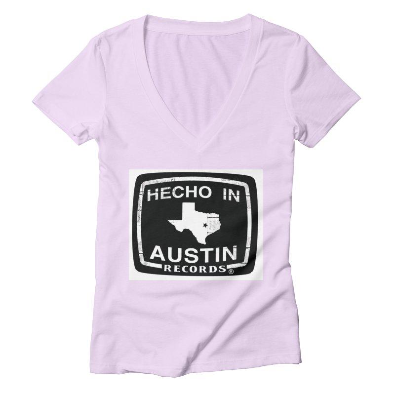 Hecho In Austin Women's Deep V-Neck V-Neck by El Tule Store