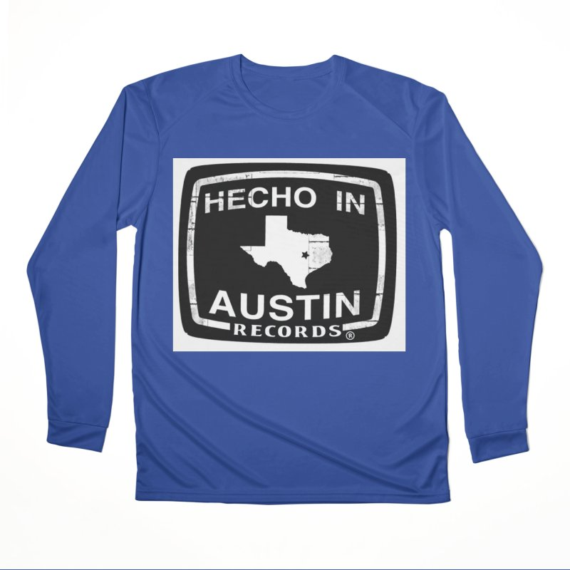Hecho In Austin Men's Performance Longsleeve T-Shirt by El Tule Store