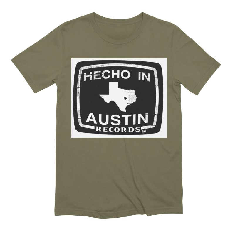 Hecho In Austin Men's Extra Soft T-Shirt by El Tule Store