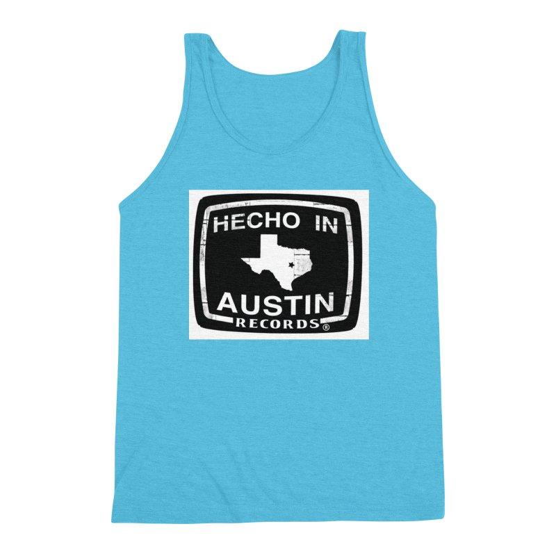 Hecho In Austin Men's Triblend Tank by El Tule Store