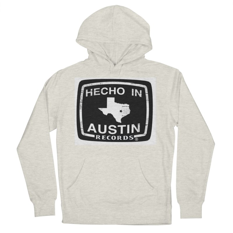 Hecho In Austin Men's French Terry Pullover Hoody by El Tule Store