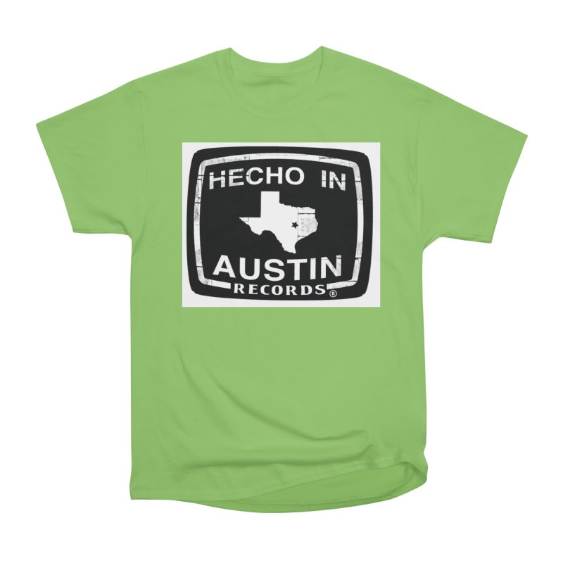 Hecho In Austin Men's Heavyweight T-Shirt by El Tule Store