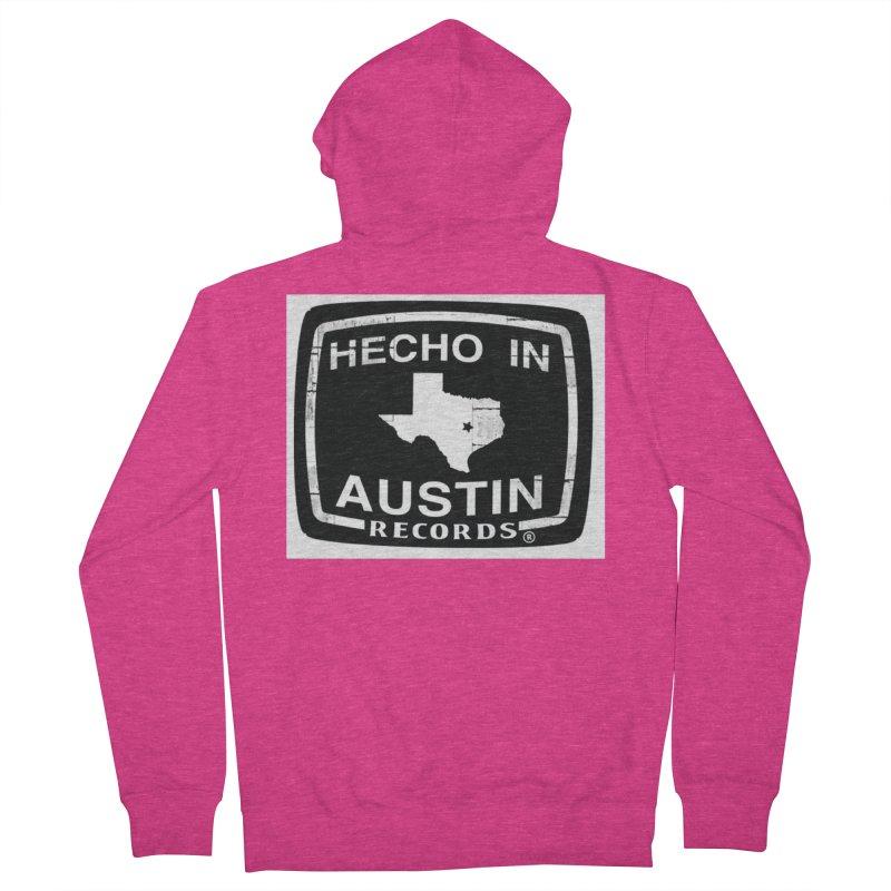 Hecho In Austin Women's French Terry Zip-Up Hoody by El Tule Store