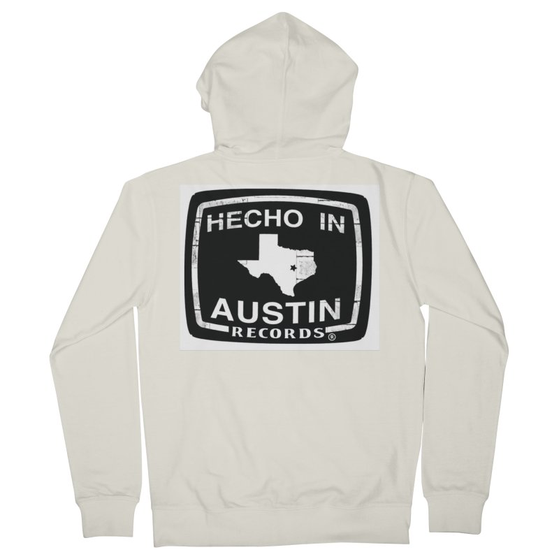 Hecho In Austin Women's French Terry Zip-Up Hoody by El Tule Store