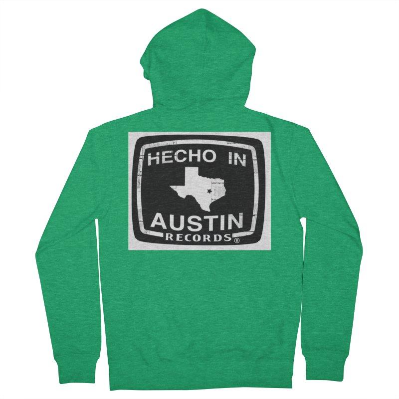 Hecho In Austin Men's Zip-Up Hoody by El Tule Store