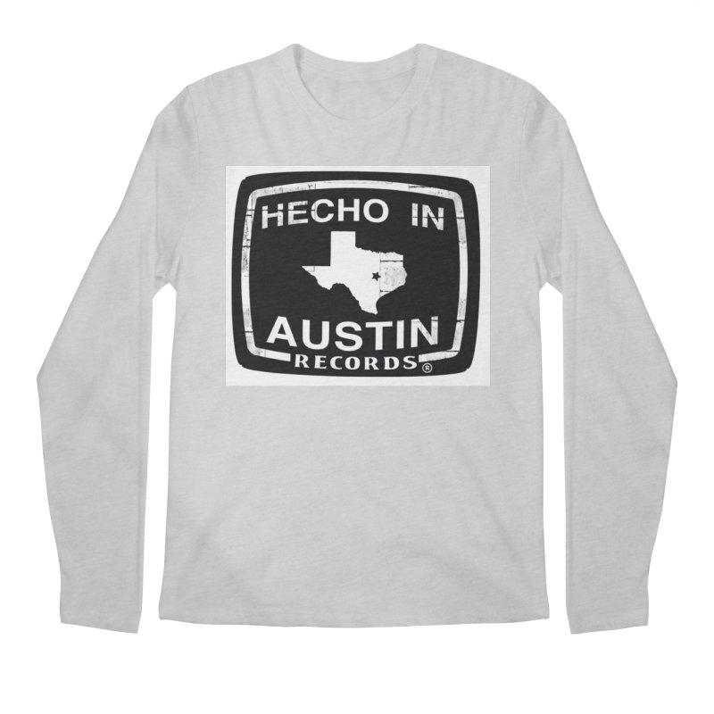 Hecho In Austin Men's Regular Longsleeve T-Shirt by El Tule Store