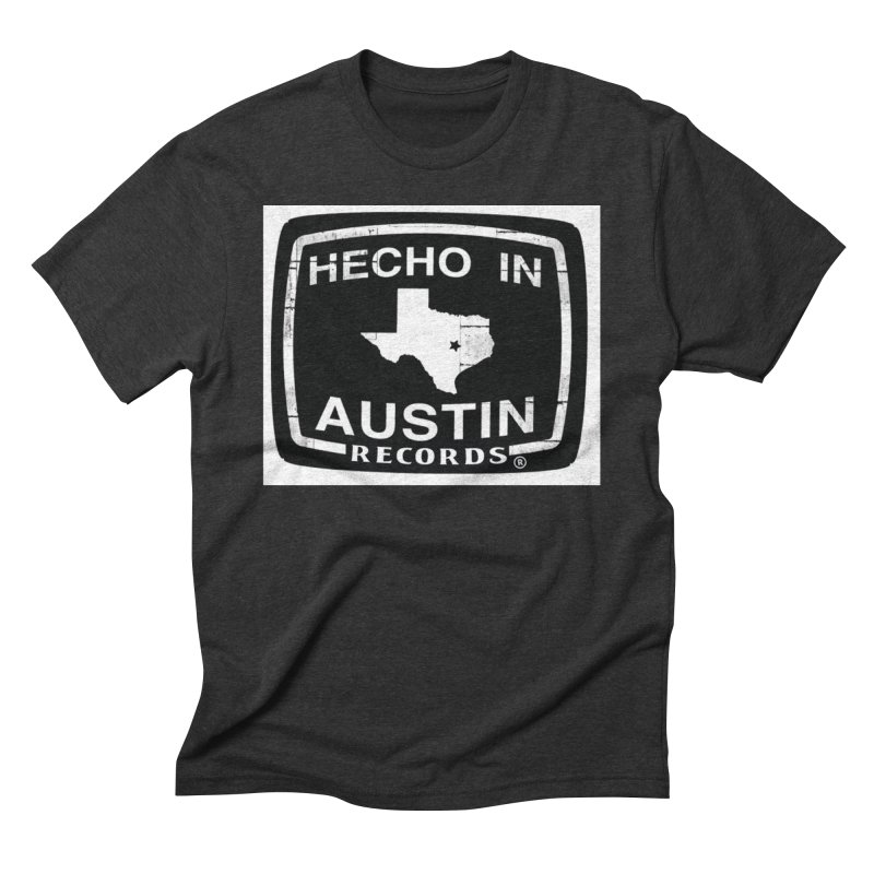Hecho In Austin Men's Triblend T-Shirt by El Tule Store
