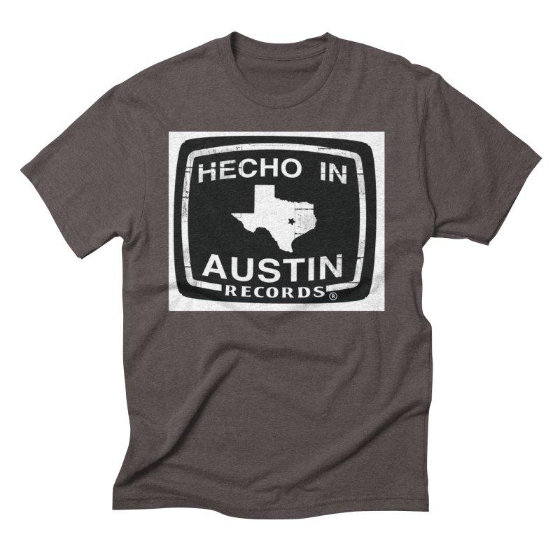 Hecho In Austin Men's Triblend T-Shirt by El Tule Store