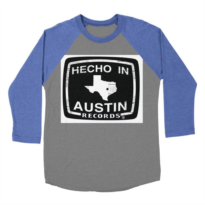 Hecho In Austin Women's Baseball Triblend Longsleeve T-Shirt by El Tule Store