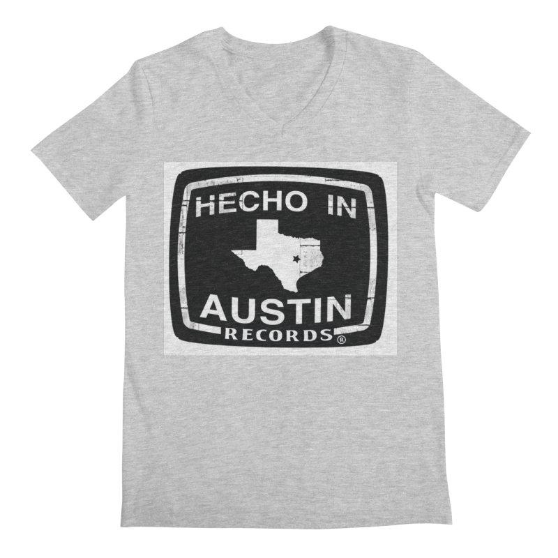 Hecho In Austin Men's Regular V-Neck by El Tule Store