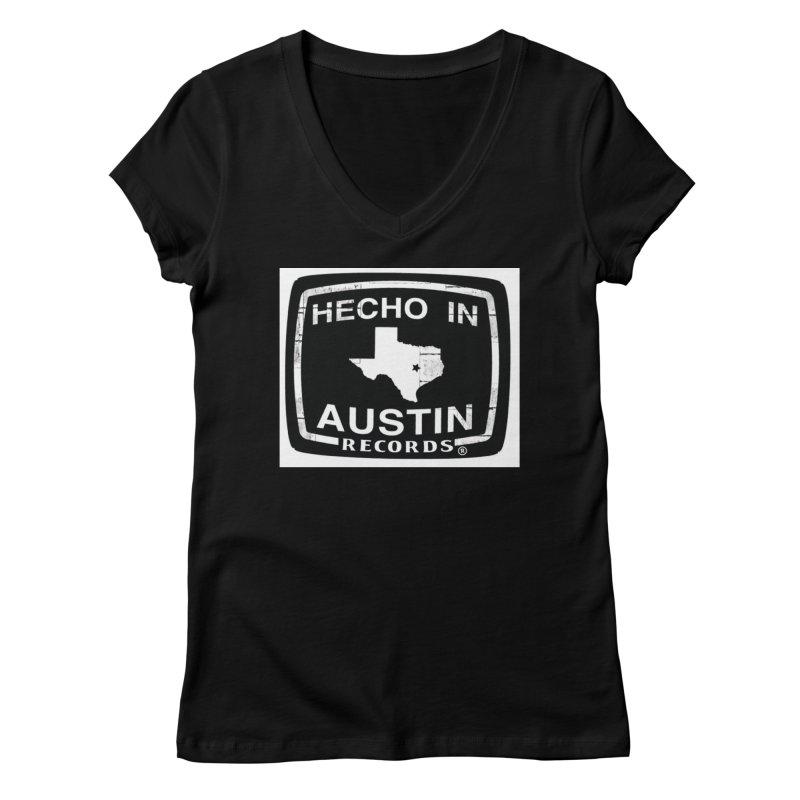 Hecho In Austin Women's V-Neck by El Tule Store