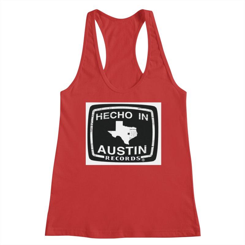 Hecho In Austin Women's Racerback Tank by El Tule Store
