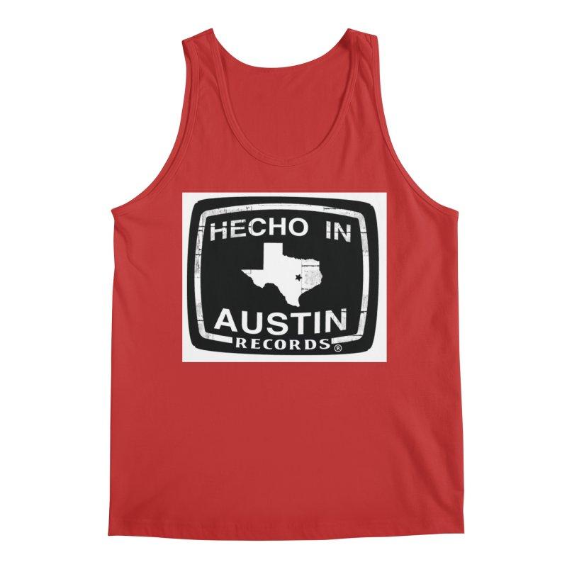 Hecho In Austin Men's Regular Tank by El Tule Store