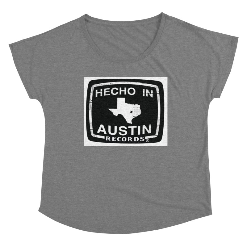 Hecho In Austin Women's Scoop Neck by El Tule Store