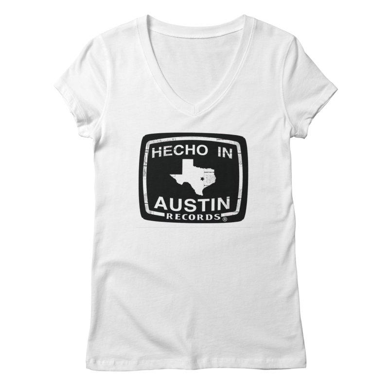 Hecho In Austin Women's Regular V-Neck by El Tule Store
