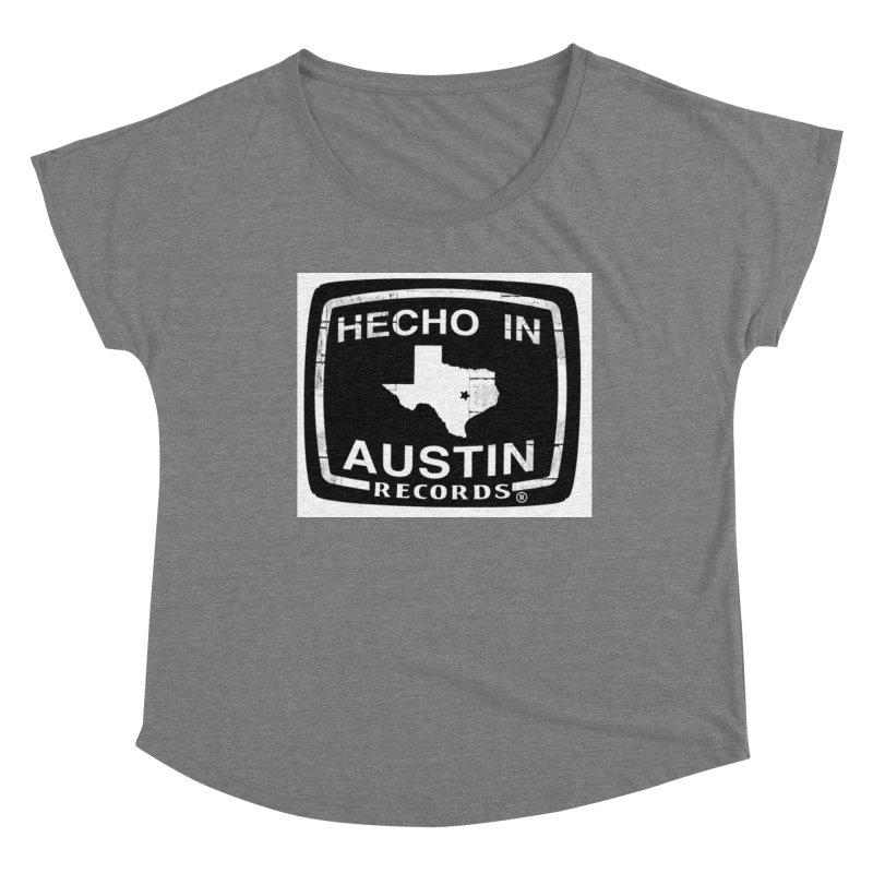 Hecho In Austin Women's Scoop Neck by El Tule Store
