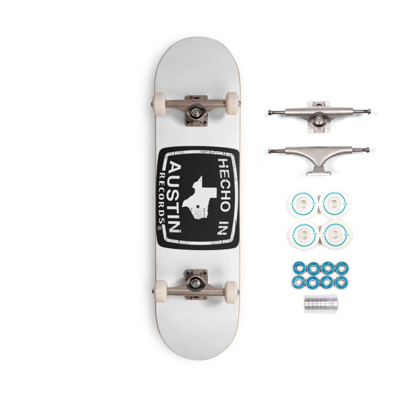 Hecho In Austin Accessories Complete - Basic Skateboard by El Tule Store