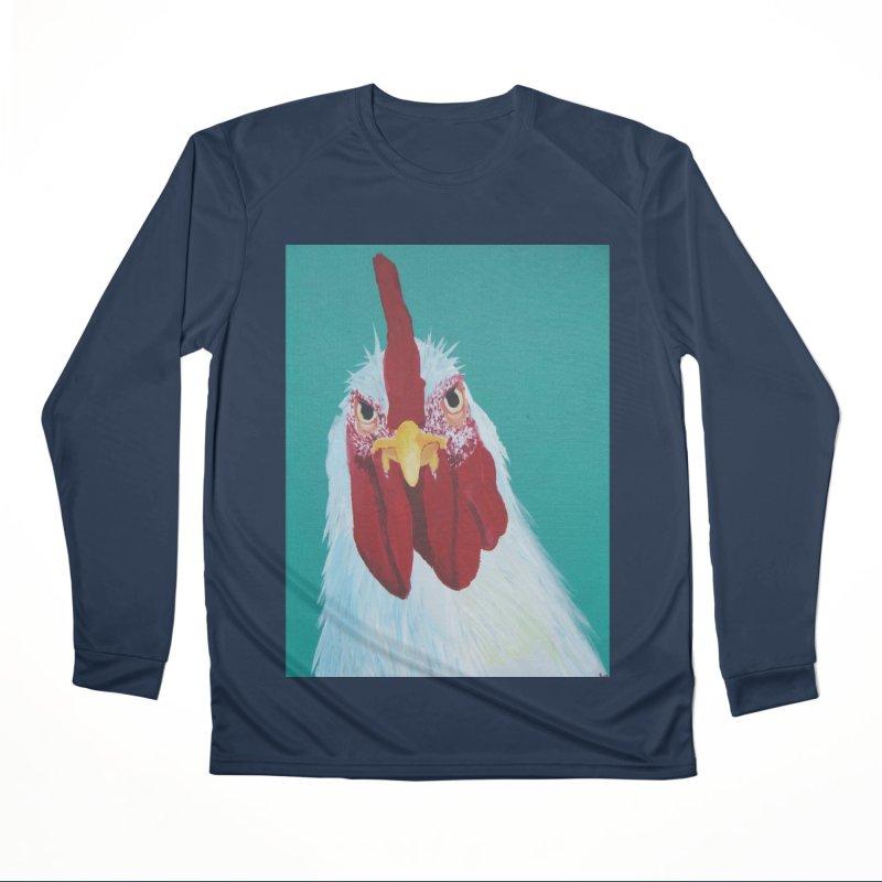 El Tule Gallo Women's Performance Unisex Longsleeve T-Shirt by El Tule Store