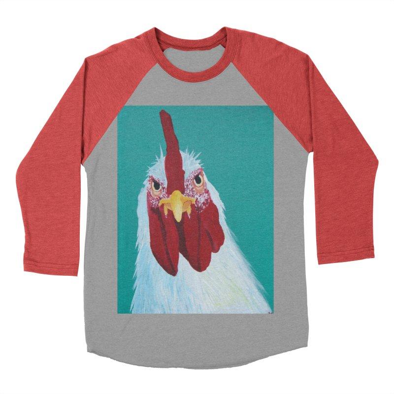 El Tule Gallo Women's Baseball Triblend Longsleeve T-Shirt by El Tule Store