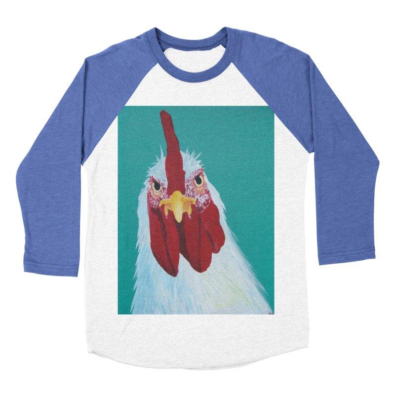 El Tule Gallo Men's Baseball Triblend Longsleeve T-Shirt by El Tule Store