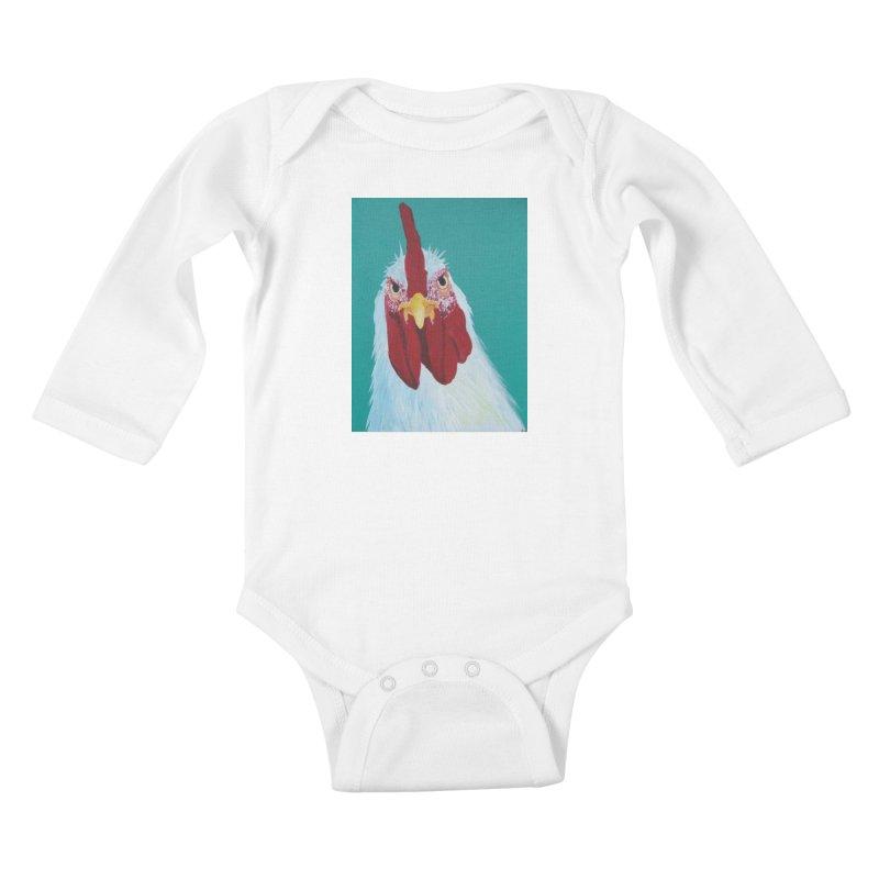 El Tule Gallo Kids Baby Longsleeve Bodysuit by El Tule Store