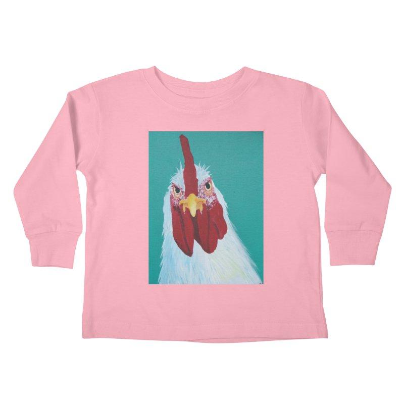 El Tule Gallo Kids Toddler Longsleeve T-Shirt by El Tule Store