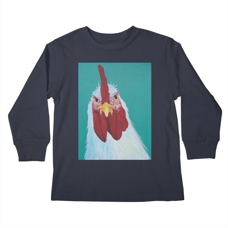 El Tule Gallo Kids Longsleeve T-Shirt by El Tule Store