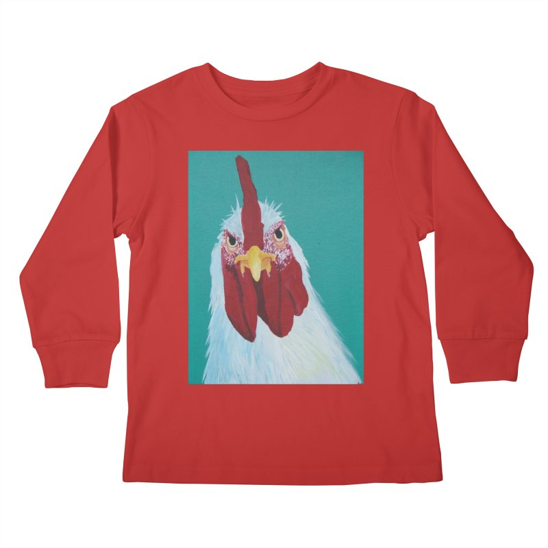 El Tule Gallo Kids Longsleeve T-Shirt by El Tule Store