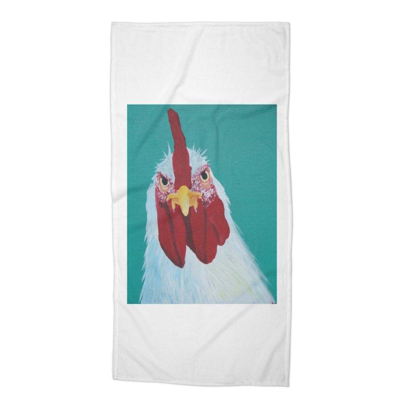 El Tule Gallo Accessories Beach Towel by El Tule Store