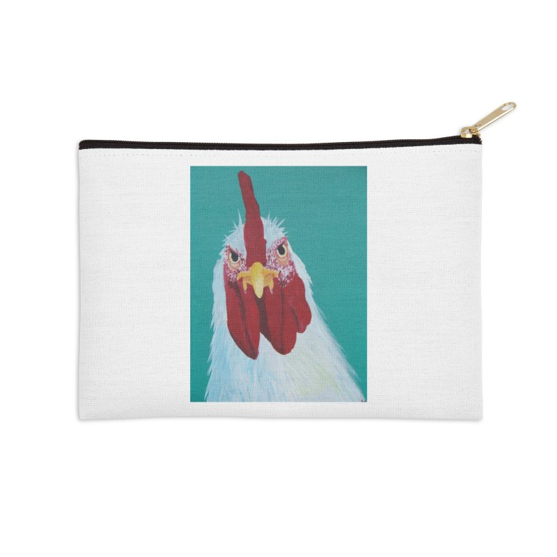 El Tule Gallo Accessories Zip Pouch by El Tule Store