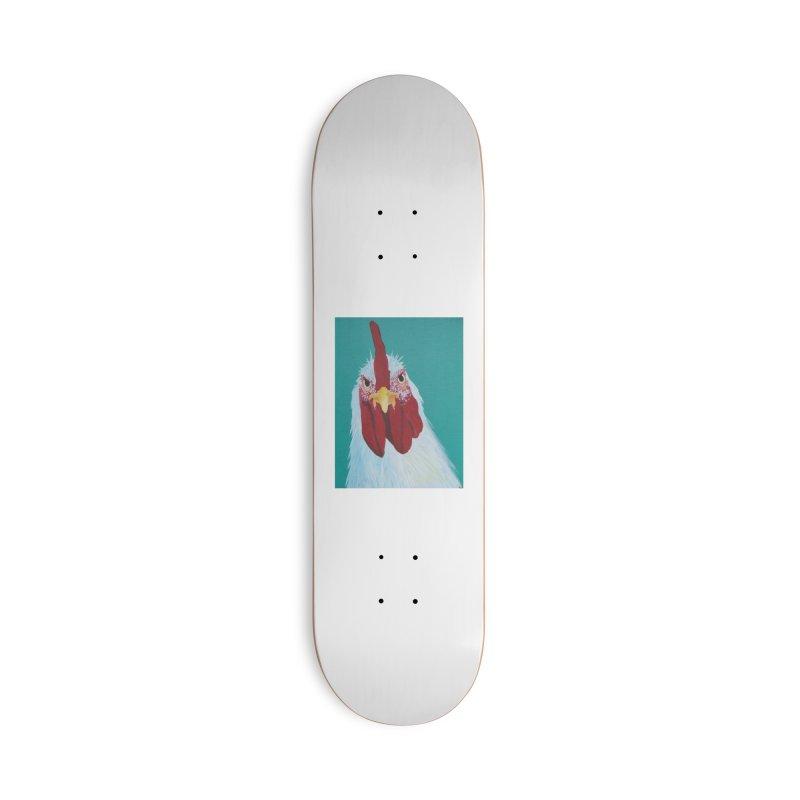 El Tule Gallo Accessories Deck Only Skateboard by El Tule Store