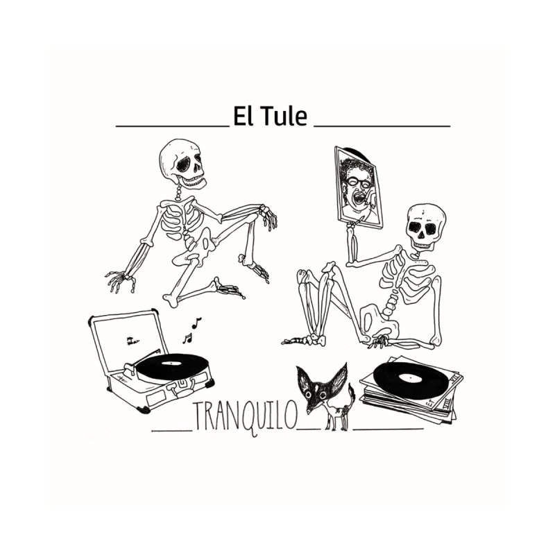 """Tranquilo"" 7"" Vinyl cover Home Blanket by El Tule Store"