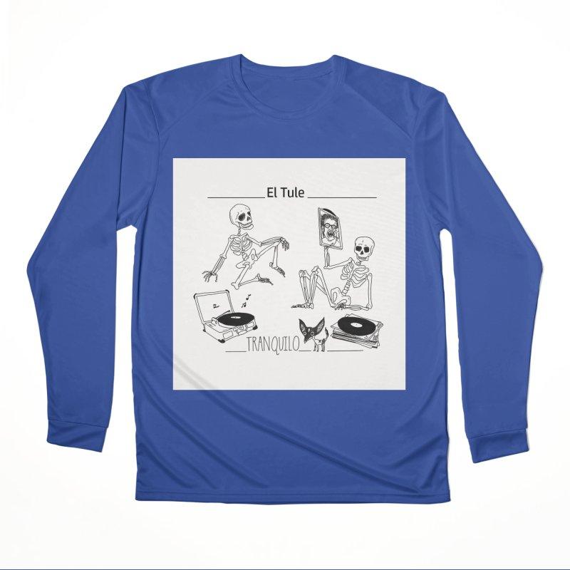 """Tranquilo"" 7"" Vinyl cover Men's Performance Longsleeve T-Shirt by El Tule Store"