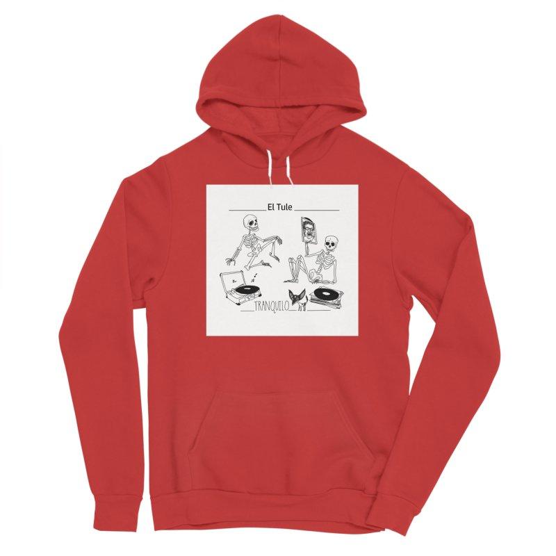 """""""Tranquilo"""" 7"""" Vinyl cover Men's Pullover Hoody by El Tule Store"""